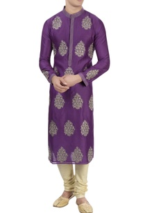 purple-thread-embroidered-kurta