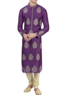 purple-thread-embroidered-kurta