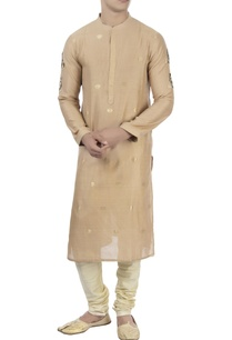 beige-kurta-with-embellished-beadwork