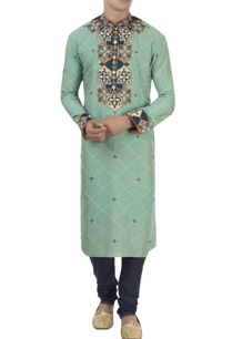green-blue-turkish-pattern-kurta