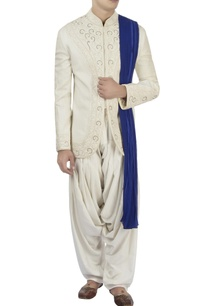 white-bandhgala-white-patiala-pants