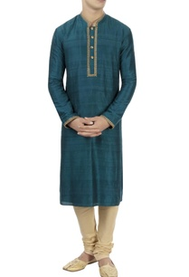 blue-zardozi-kurta-churidar