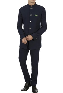 navy-blue-wool-bandhgala-trousers