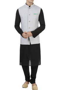 beige-blue-reversible-nehru-jacket