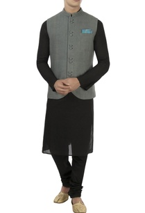 grey-matka-silk-nehru-jacket