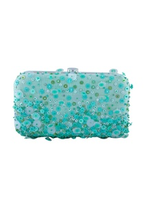 blue-green-sequin-embellished-clutch