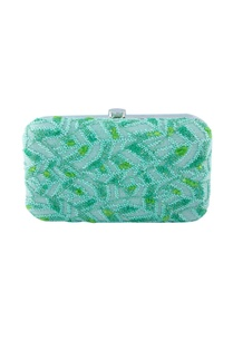 blue-green-bead-embellished-clutch