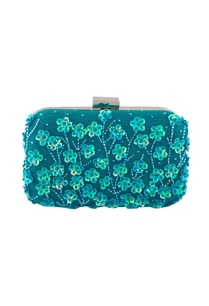 blue-clutch-with-floral-embellished-motifs