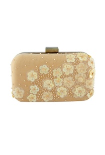 beige-floral-sequin-embellished-clutch