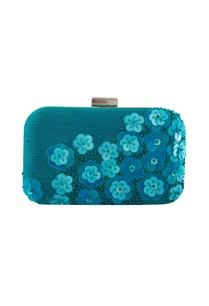 blue-thread-embellished-clutch