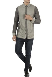 grey-color-block-cotton-shirt