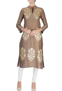 beige-sequin-embellished-kurta