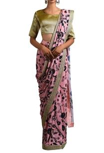 pink-floral-sari-brocade-blouse