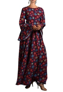 multicolored-floral-kurta