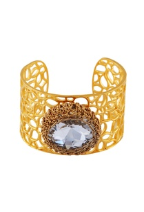 gold-plated-filigree-bangle