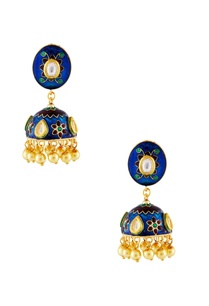 blue-gold-meena-kundan-earrings