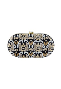 black-thread-embroidered-clutch