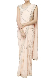 blush-georgette-sari-with-blouse