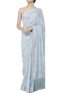 powder-blue-gota-sari-with-blouse