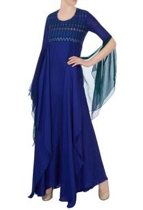 blue-silk-embroidered-kurta