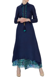 blue-double-layered-habutai-kurta