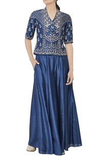 blue-silk-sequin-bandi