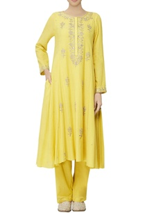 mustard-embroidered-suit