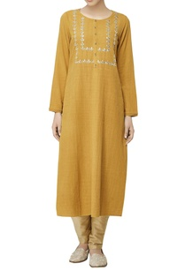 mustard-yellow-embroidered-tunic