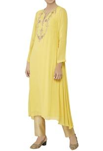 yellow-zardozi-embroidered-kurta