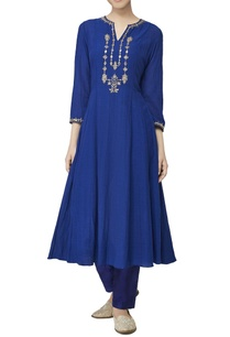 blue-embroidered-long-tunic