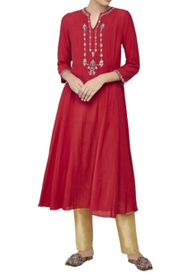 red-embroidered-tunic