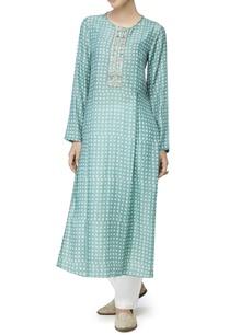 sage-green-printed-long-kurta