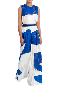 blue-white-hand-painted-jumpsuit