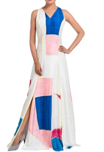 multicolored-hand-painted-paneled-dress