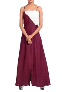 maroon-white-dress-with-cutouts