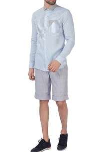 white-blue-pinstripe-formal-shirt