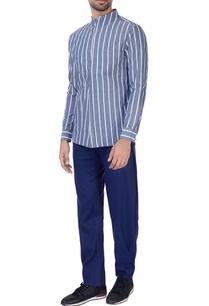 blue-white-pinstripe-overlap-shirt
