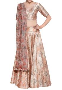 peach-floral-lehenga-corset-blouse