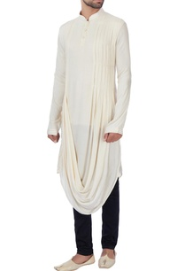 cream-textured-rayon-kurta