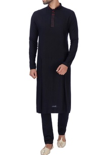 black-box-pleated-texture-kurta