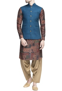 green-matka-nehru-jacket