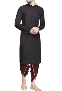 maroon-draped-dhoti-pants