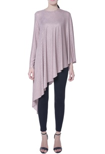 lilac-shimmer-asymmetric-cape