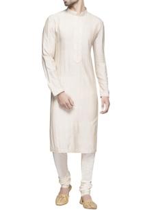 white-spun-silk-long-kurta