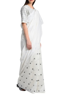 white-printed-chanderi-silk-blouse