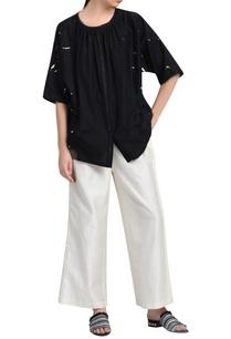 black-kimono-silk-blouse