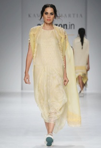 white-yellow-printed-dress