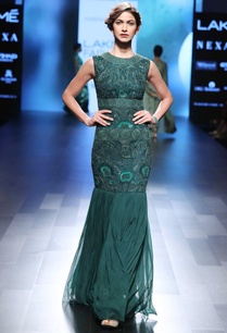 emerald-green-mermaid-style-gown