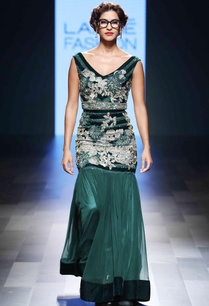 green-hand-embroidered-gown