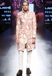 red-white-floral-sherwani